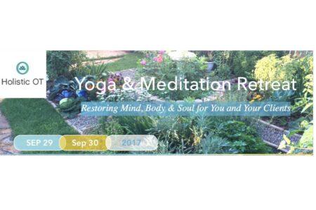 Yoga & Meditation Retreat September 29 & 30