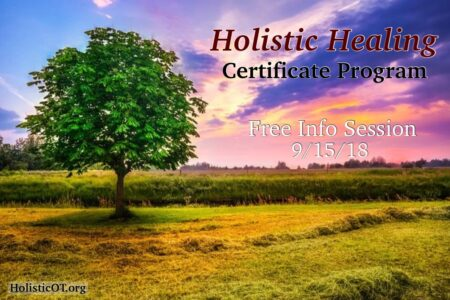 Holistic Healing Certificate Program Free Info Session 9/15/18